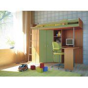 Мебель в детскую комнату Орбита-1, 203*н186*84,5, спальное место  80*200