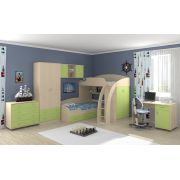 Комплект мебели Соня-1 + Соня-2 + Соня-3, (спальное место 80*190)