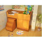 Детская Дюймовочка-2 Микро: кровать-чердак Спальное место 160*70 см
