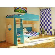 Двухъярусная кровать Орбита-5 детская, спальное место 80*190.