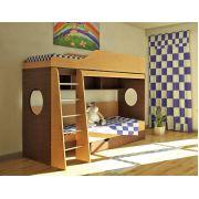 2-ярусная кровать Орбита-5 для двоих детей, спальное место 80х190 см.