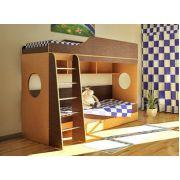 Детская мебель Орбита-5 для двоих детей - спальное место 190*80