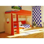 Двухъярусная кровать Орбита-5 для двоих детей, спальное место 80*190 см.