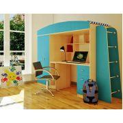 Кровать чердак Орбита-8 - детская мебель, спальное место 190*80