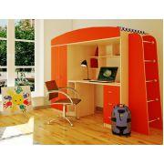 Детская кровать чердак Орбита-8 - кровать в детскую комнату, спальное. место 190*80