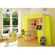 Детская стенка Орбита-8 - кровать чердак с рабочей зоной, спальное место 190*80