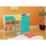 Детская кровать чердак Орбита-6 для маленьких детей, спальное место 160*70