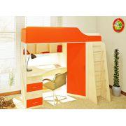 Кровать чердак с рабочей зоной Орбита-7 - Д1936хВ1764хГ834мм, спальное место 190*80