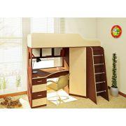 Детская Орбита-7 - кровать чердак в детскую комнату, спальное место 190*80