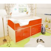Мебель для детей Орбита-9 - кровать чердак с рабочей зоной, спальное место 160х70 см.