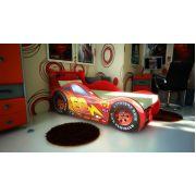 Кровать-машина Молния Ред Ривер: Красная, синяя, желтая Цена с матрацем 155х67см