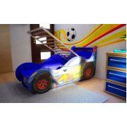 Кровать-машина Молния Ред Ривер: Красная, синяя, желтая.