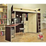 Мебель для детей Орбита-1, 203*н186*84,5, спальное место 80*200