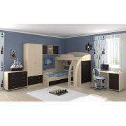 Детская мебель Соня-1 + Соня-2 + Соня-3 (Весь комплект). Выбираем цвет!