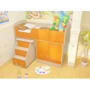 Детская кровать Дюймовочка-2 Микро. Спальное место 160*70 см. Выбираем цвет!