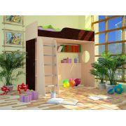 Кровать-чердак Орбита 11/1 (спальное место 190*80) 6- цветов фасадов. НОВИНКА