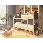 Двухъярусная кровать Орбита-12 (корпус венге / фасад дуб кремона)