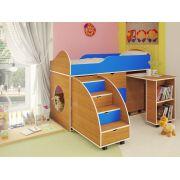Новинка! Кровать чердак для детей Орбита-14, спальное место 160*70 см