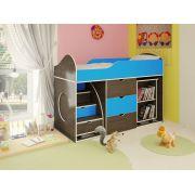 Детская кровать для мальчиков Орбита-14, спальное место 160*70 см