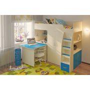 НОВИНКА!!!! Детская мебель - кровать чердак Орбита 18