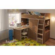 Кровать чердак Орбита 18 - мебель для детей