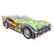 Детская кровать машина Турбо Кар Домико