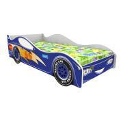 Детская кровать машина Форсаж Кар Домико (цвет синий)