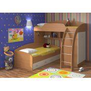 Кровать двухъярусная Соня 1 + Соня 2 (комплект). Спальное место 190х80 см