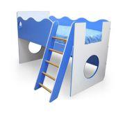 Мебель детская Морячок - кровать чердак