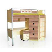 Детская мебель Полосатый рейс Кровать-чердак ПР-2 (без тумбы)