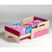 Детская кровать Вырастайка Модель №1 с мягкими накладками