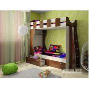 Детская двухъярусная кровать Фанки Кидз 5