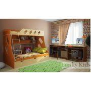 Детская для двоих детей: кровать Фанки Кидз 16 + стол письменный 13/51СВ