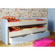 Двухъярусная кровать Фанки Кидз 8 с выдвижным ящиком