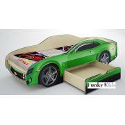 Детская кровать-машина Камаро Шевроле со спальным местом 190х80