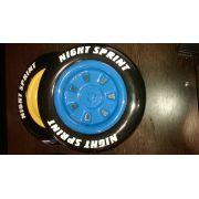 Комплект объемных пластиковых колес из 2 шт.