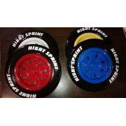 Комплект объемных пластиковых колес к машинам РЕД РИВЕР