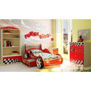 Композиция 2 Фанки Авто с кровать-машиной Фанки Молния