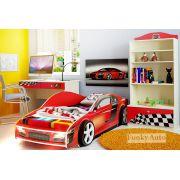 Детская мебель Фанки Авто - композиция 1 с кровать-машиной Ауди Фанки