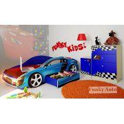 Детская мебель Фанки Авто - композиция 2 с кровать-машиной Фанки Ауди