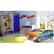 Кровать-машина Ниссан Жук + детская мебель Фанки Авто
