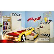 Комплект детской мебели Фанки Авто и кровать-машины Камаро Шевроле