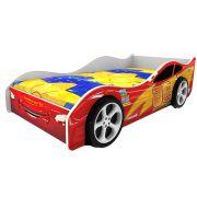 Детская кровать Домико МОЛНИЯ 3D (колеса приобретаются отдельно)