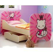 Детская кровать КР-6 серия Китик без выдвижного ящика