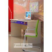 Стол письменный ФА-СТ-4 для детей Мотогонки