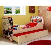 Кровать со спальным местом 190х80 см Формула 1