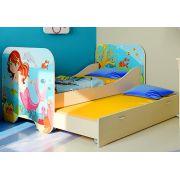 Кровать детская КР-6 спальное место 190х80 см Русалочка