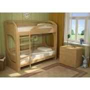 Двухъярусная кровать Фанки Пайн 190х80см с лестницей в пол