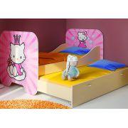 Детская кровать КР-6 без выкатной кровати серии Китик 190х80 см