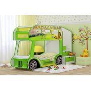 Кровать Автобус Престиж для двоих детей сп. место 170х70 см